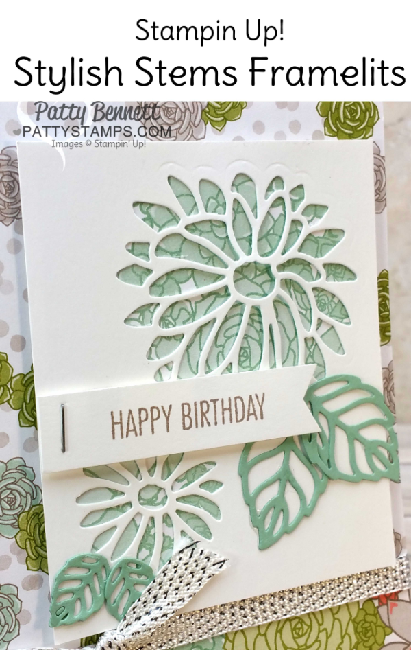 Succulent Garden floral paper Stampin\' Up! cards (Patty\'s Stamping ...