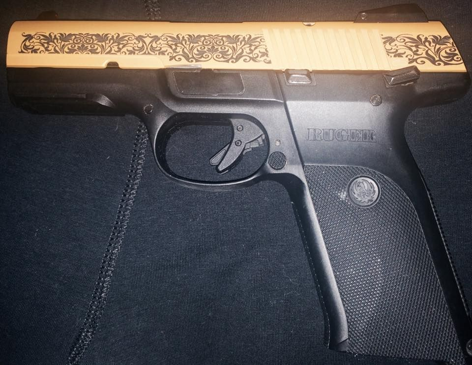 Ruger Fan, Rachel Depoule-Barr, sent us this pic of her