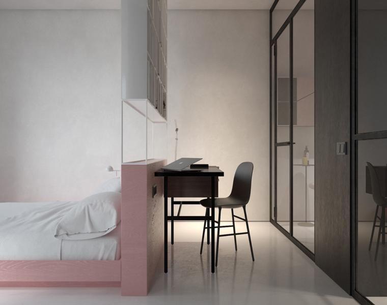 Studios und Loft-Apartments mit zeitlosen Dekorationen Studio