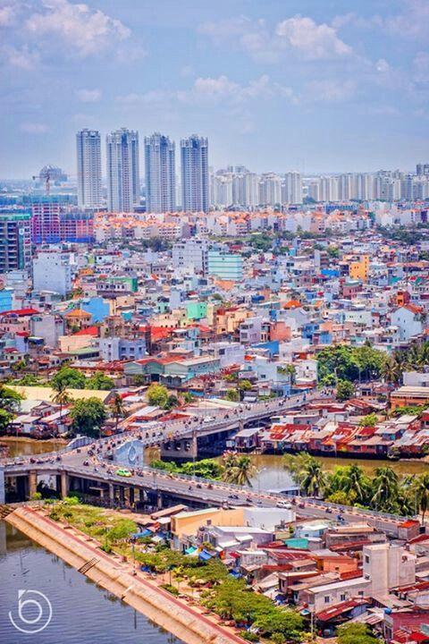 Saigon Vietnam Colorful Picture With Images Vietnam