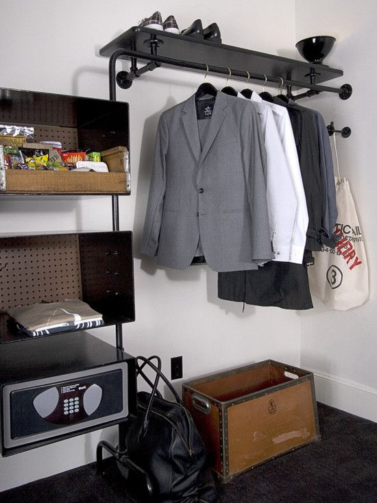 closet industrial design pictures remodel decor and ideas