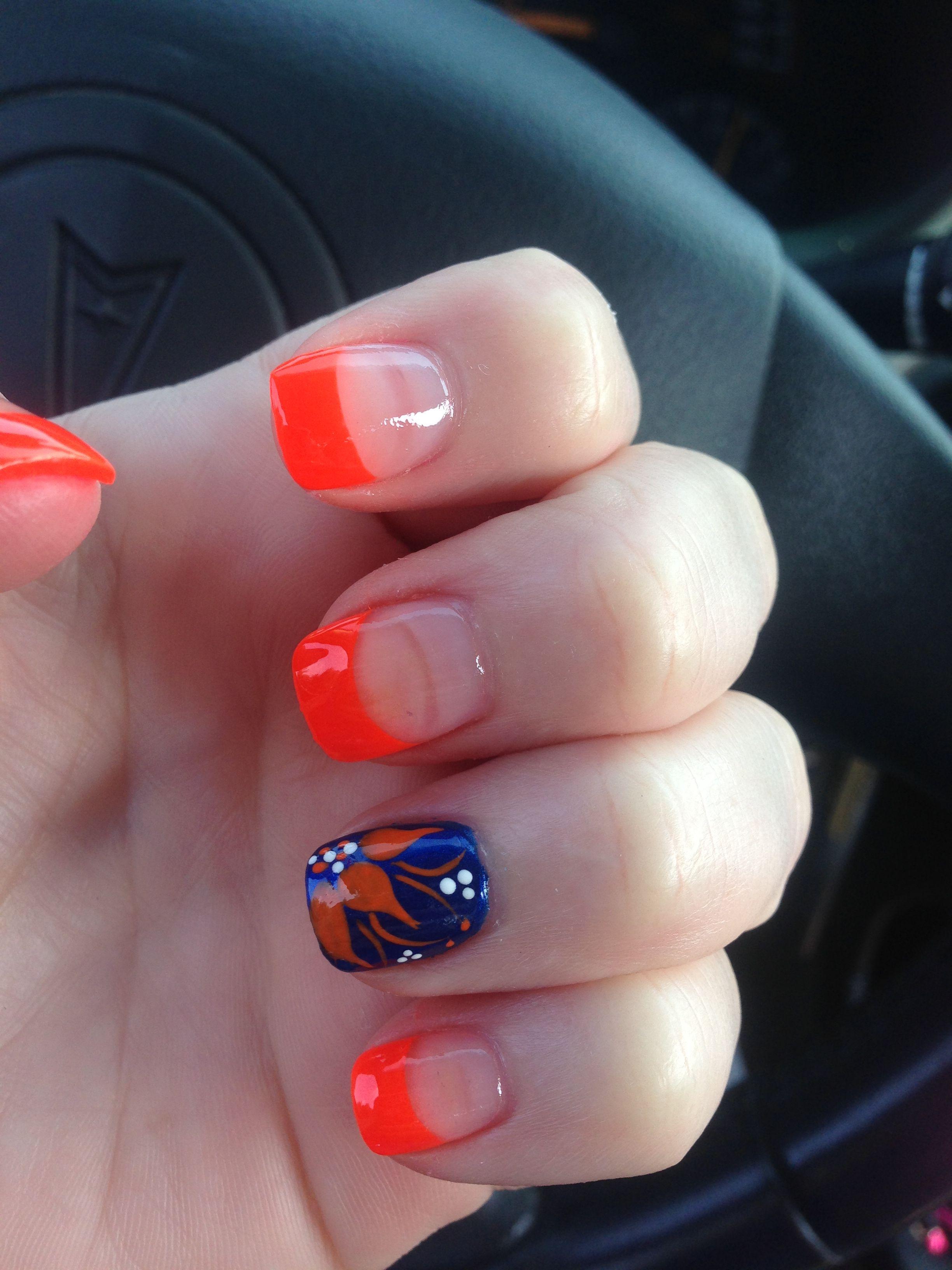 gator nails orange