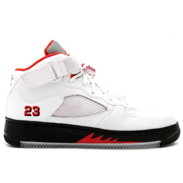 super popular 8ab35 d9c1d Air Jordan Fusion 5 White   Red   Black  105.99 http   www.