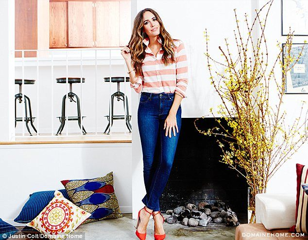 Inside Louise Roes glamorous Canyon home in LA Preppy style