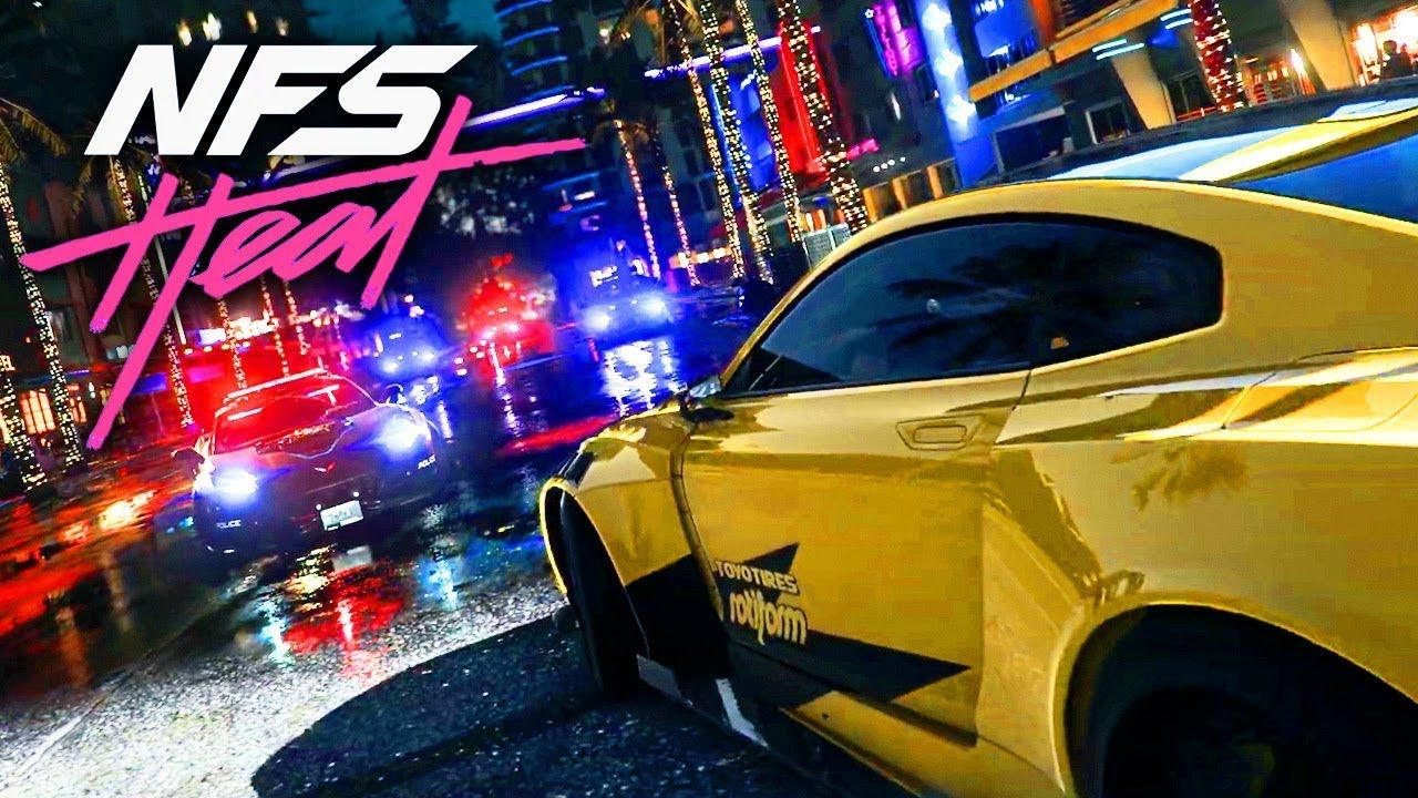 Nfs Heat Need For Speed Speed Ghost Games