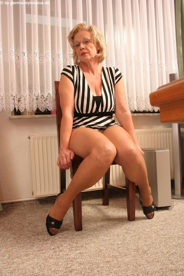 Mature german nylons