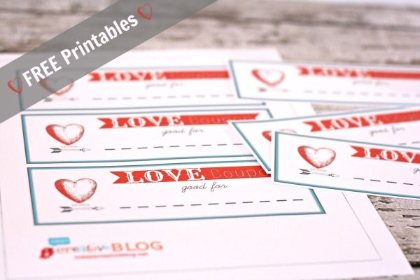 Free Printable Valentineu0027s Day Coupons from Elegance \ Enchantment - free coupon template printable
