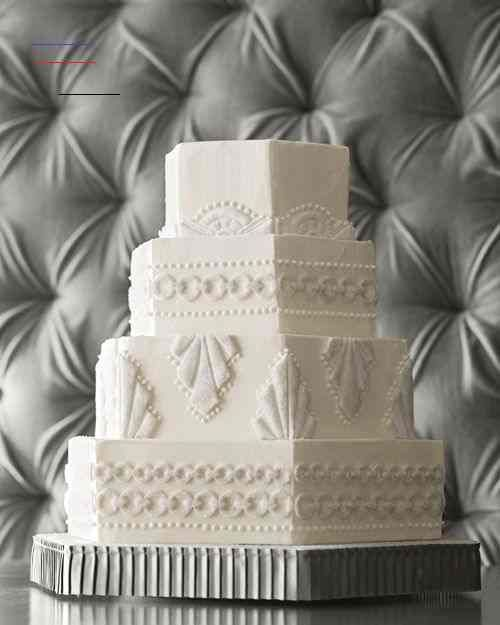 Love this Art Deco Wedding Cake! #artdecoweddingcake #weddingtheme #weddingplanning #weddingcake #bridalshower #sangeetwedding #eventstyling #food #wedding #foodideas #cateringideas #weddingideas #entertaining #catering #perfectaffair #entertainment #partyideas #cateringdisplay #eventdesign<br>