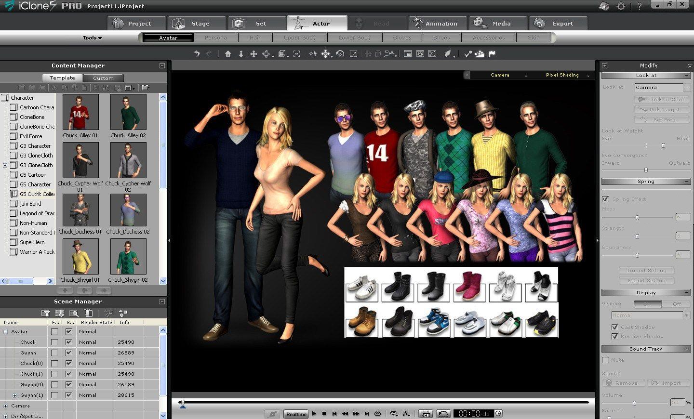 Reallusion iClone Pro 6 4 Full Version Free | Menu css