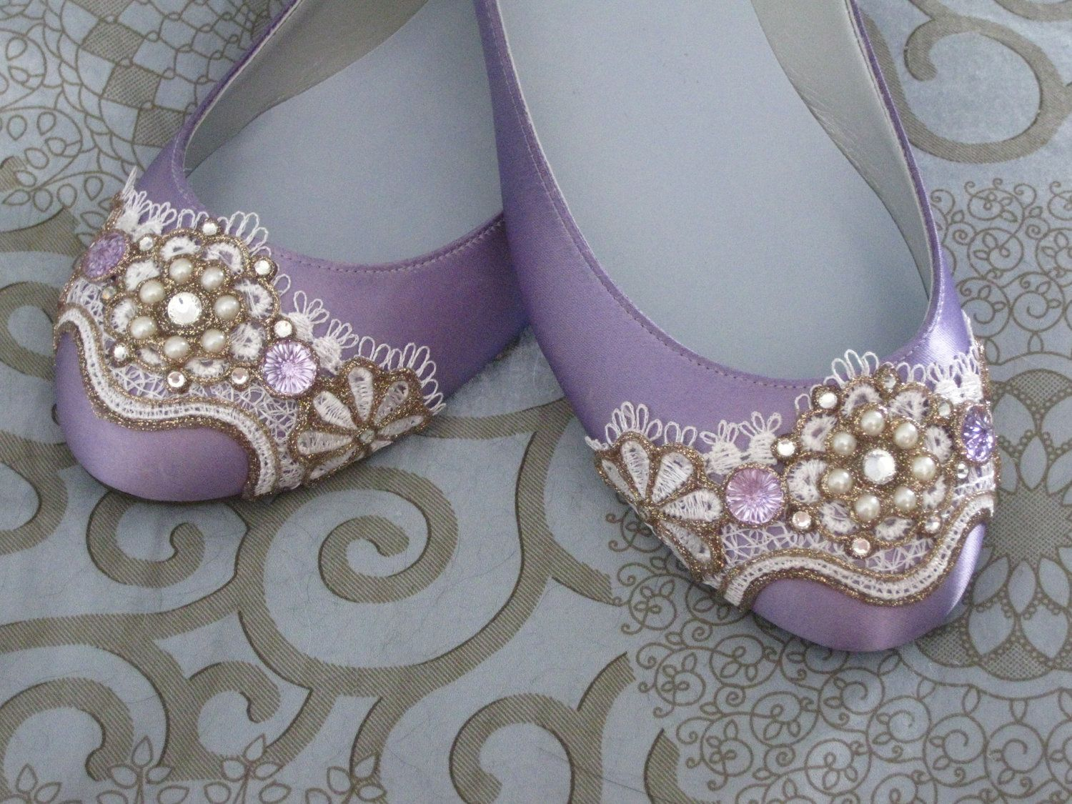 Sugarplum Fairy Ballet Flats Wedding Shoes