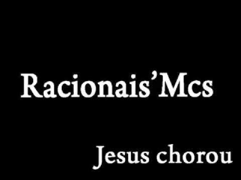Jesus Chorou Musica De Racionais Mc S Http Www Bandas Mus Br