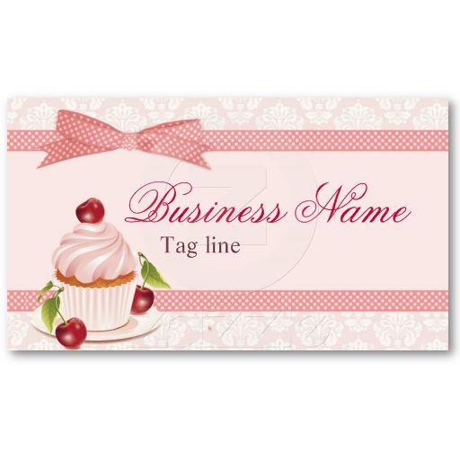 Sweet cupcake business card template card templates business sweet cupcake business card template fbccfo Gallery