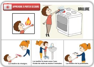Cartes a pinces secours instruction civique pinterest montessori and math - Apprendre a porter secours cycle 3 ...