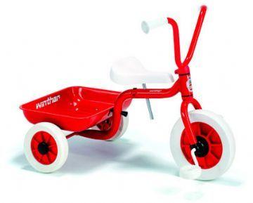 Punainen Kolmipyörä laatikolla - Winther Tricykel 40500 Shop - Eurotoys - Lelut online