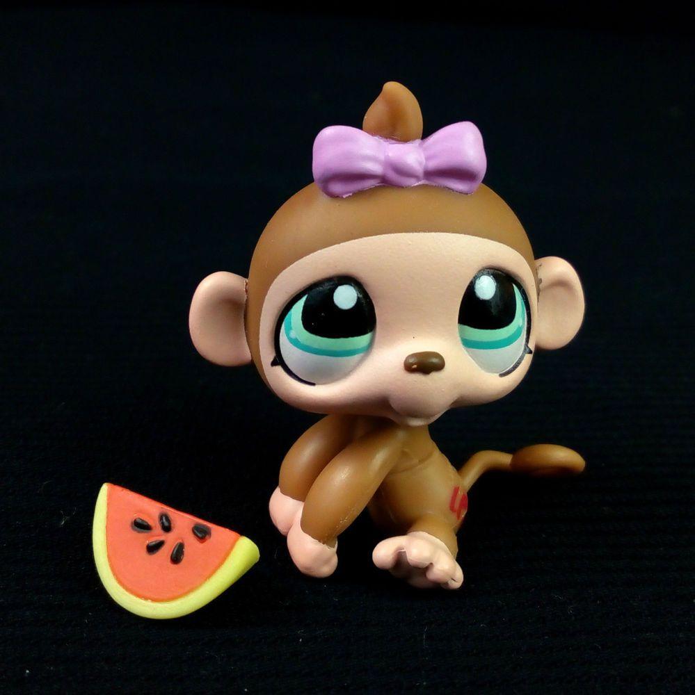 Littlest Pet Shop 1161 Gorilla Monkey Girl LPS Toy HASBRO