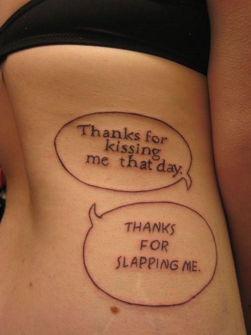 Funny Side Tattoos For Women Tattoos For Women Funny Tattoo Quotes Short Quote Tattoos Tattoo Quotes For Men