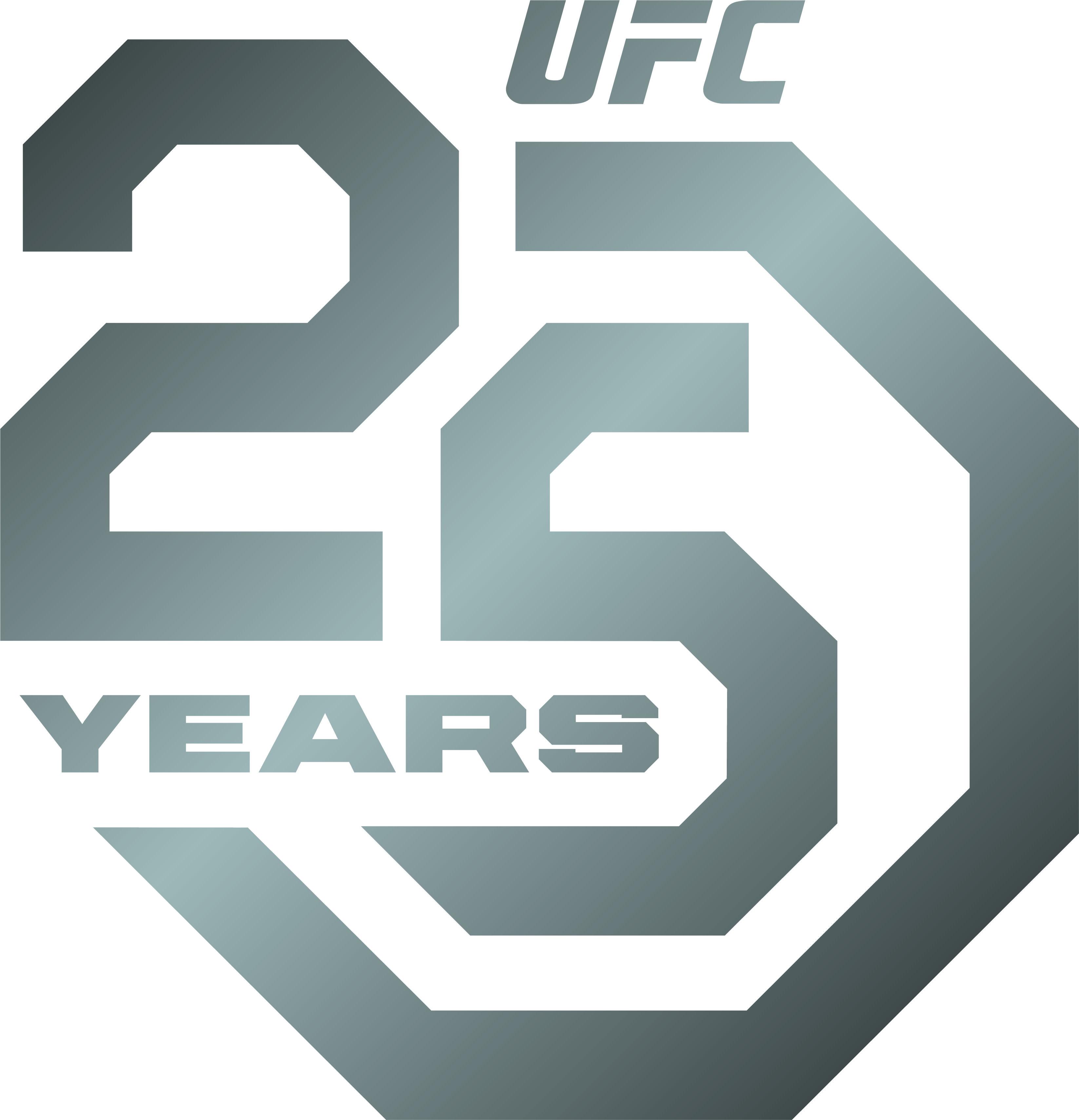 Ufc Unveils 25th Anniversary Logos Bereavision Ufc