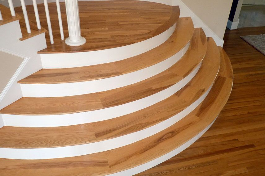 Charming Image Result For Curved Wood Stair Treads
