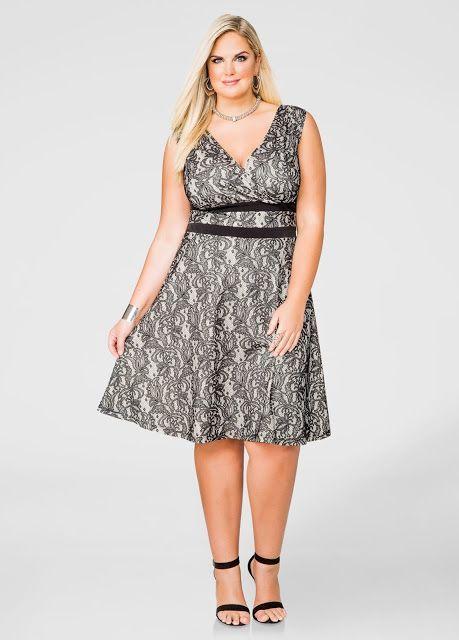 Vestidos Para Gorditas Estampados En 2019 Vestidos Para