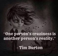 Tim Burton Quotes Glamorous Tim Burton Quote The Board  Pinterest  Tim Burton Thoughts