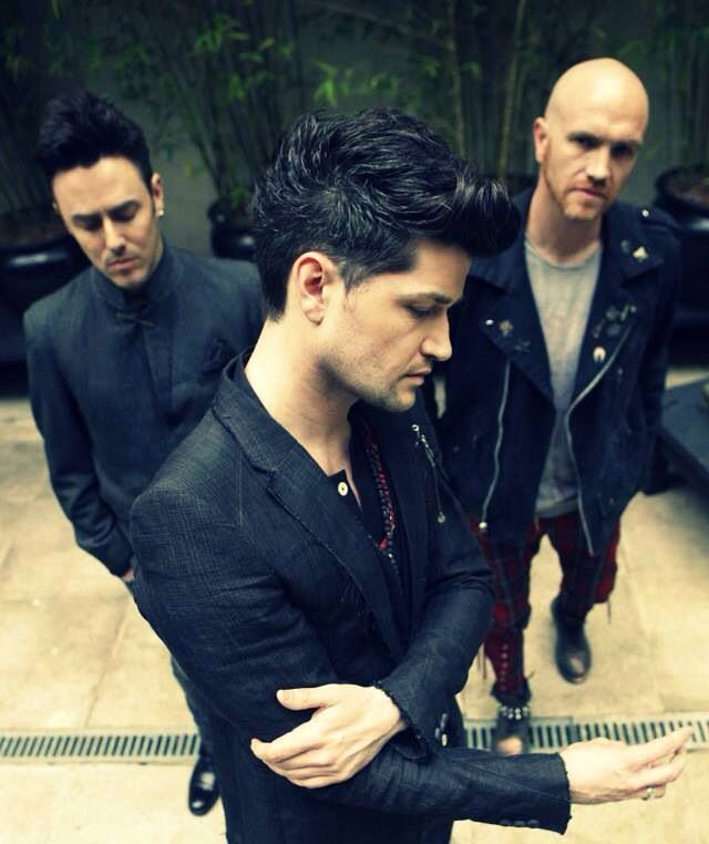 The Script.  The day I fangirl at these men, you can call this grown woman a…