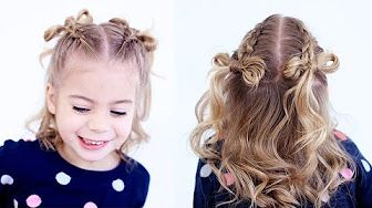 Cute Girls Hairstyles - YouTube | Hair | Pinterest | Girl ...