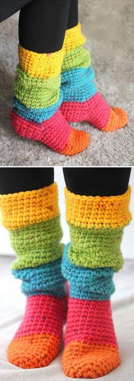 47+ Ideas crochet socks free pattern for beginners ...