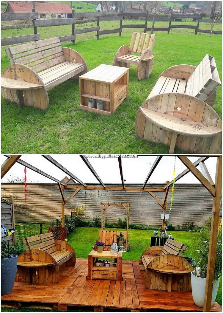 Diy Wooden Pallet Recycling Ideas