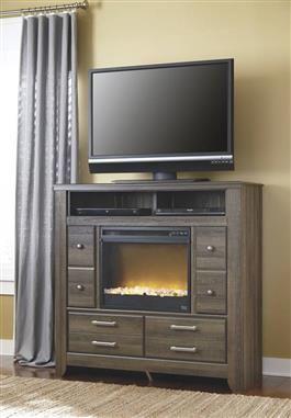 Best Juararo Vintage Casual Dark Brown Wood Media Chest W 400 x 300