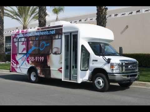 Salon bus conversion by quality coachworks llc located for Bus salon miramas