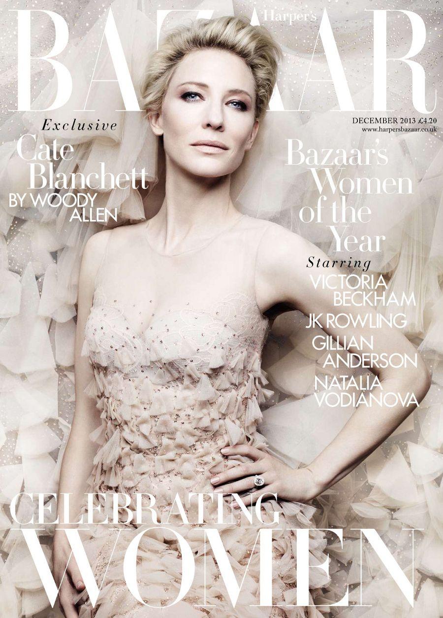 展露完美性感曲線 - Miranda Kerr全裸為澳洲版《Harpers Bazaar 》拍攝封面 - The