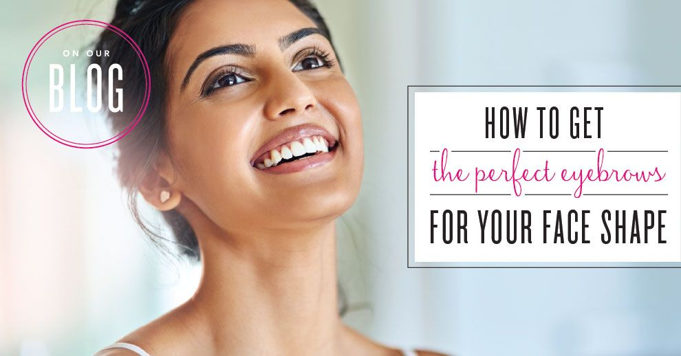 How To Get The Perfect Eyebrows For Your Face Shape Misc