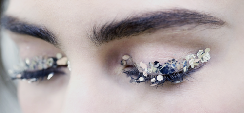 xangeoudemonx: Makeup at Chanel - Spring 2014 Couture &...