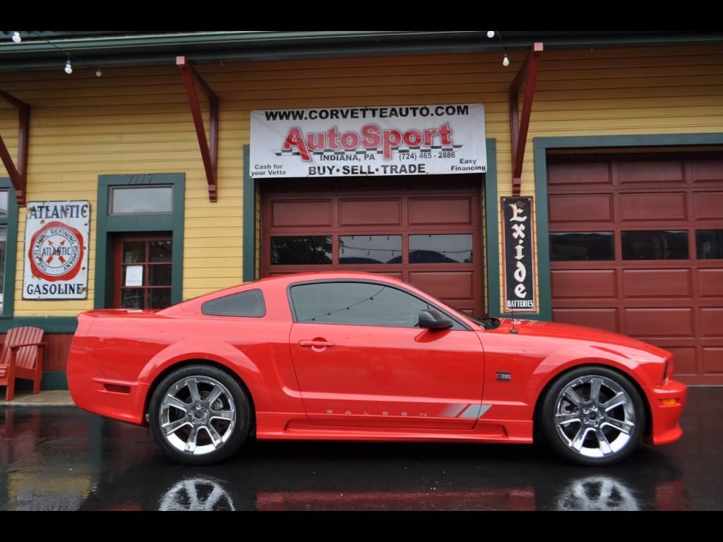 Mustang Saleen 2005 Ford Mustang Saleen 18140 Miles Red 4 6l V8 Sohc 24v 6 Speed 26 500 00 26500 00 Ford Mustang 2005 Ford Mustang Ford Mustang Saleen