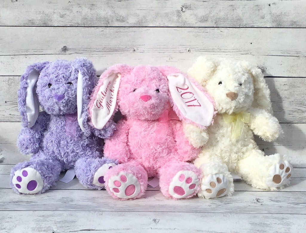 Custom easter bunnies easter gifts for babies personalized custom easter bunnies easter gifts for babies personalized easter bunnies negle Gallery