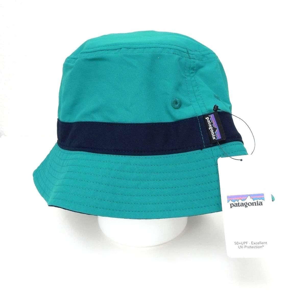 Patagonia Wavefarer Bucket Hat Emerald 29155 New ... 04bdbd37b0d