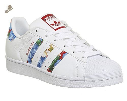 Adidas Women Superstar W (white / footwear white / power red) 5.0 - Adidas