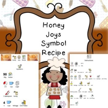 Honey Joys Recipe In Pdf Format Complete With Symbols And Writing