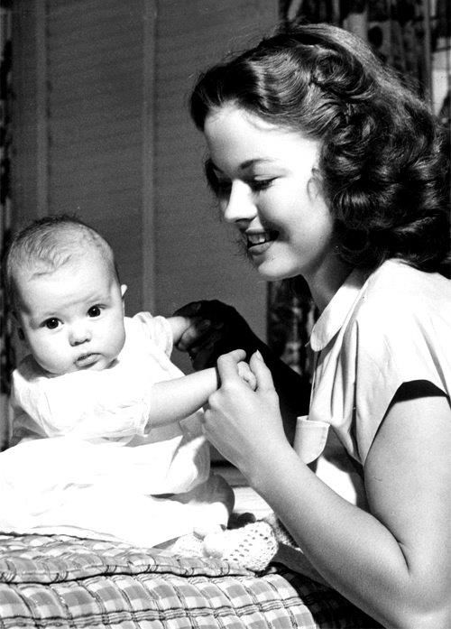 Shirley Temple & daughter Linda