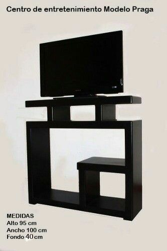 Mueble para tv muebles para audio y tv Pinterest
