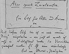Friedrich Nietzsche Friedrich Nietzsche Lexikon
