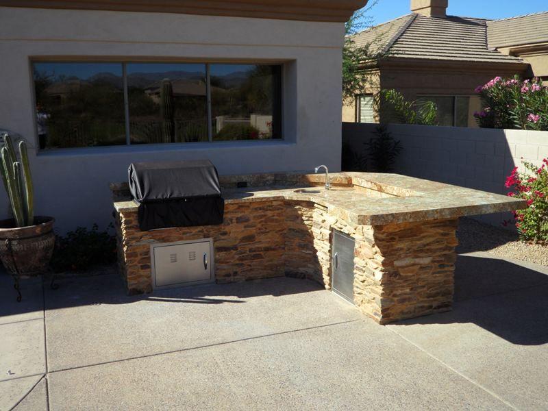 Merveilleux Designs On Built In Gas Grills In Scottsdale