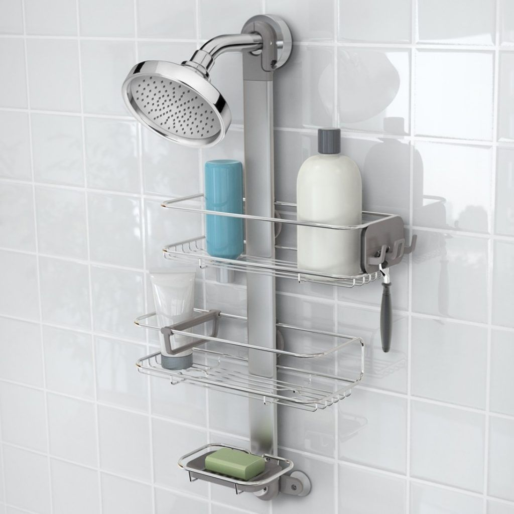 Small Shower Caddy With Hook | Bathroom Utensils | Pinterest | Small ...