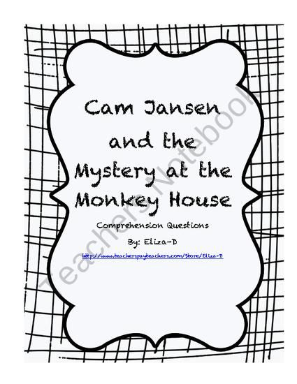 Cam Jansen and the Mystery at the Monkey House