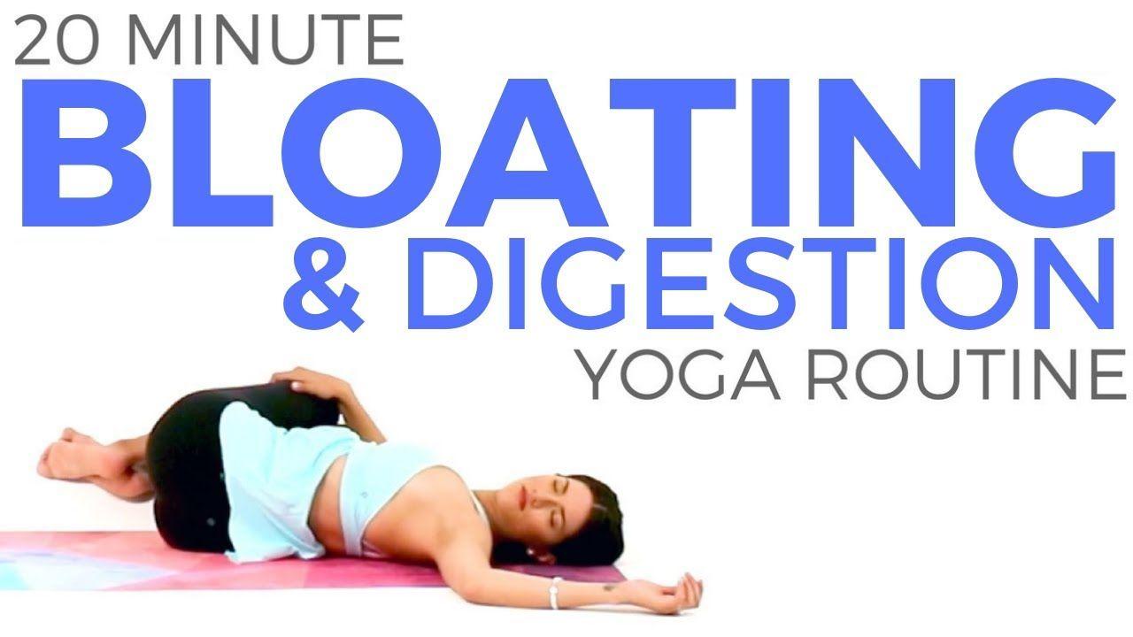 Yoga For Bloating Digestion 20 Minute Yoga Detox Yoga Practice Yoga Detox Digestion Yoga 20 Minute Yoga