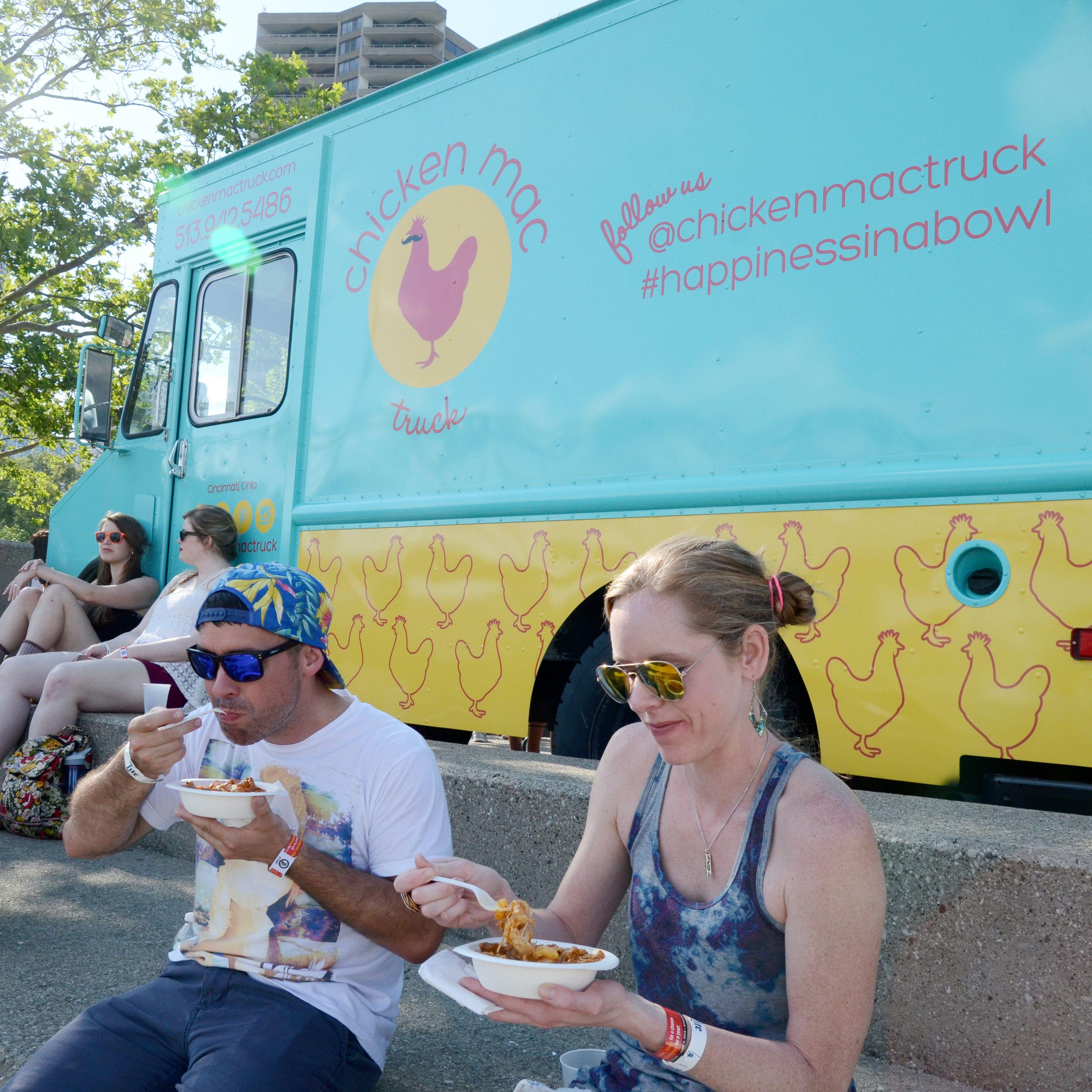 Chicken mac truck foodtruck cincinnati food truck