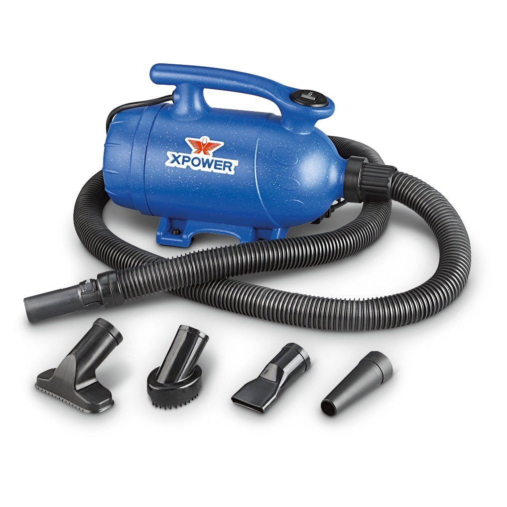 XPOWER 2in1 Pet Dryer and Vacuum, 2 HP, 2 Speed ** Read