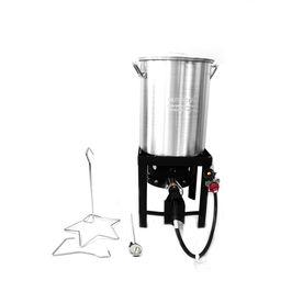Emeril 30 Quart 20 Lb Cylinder Push And Turn Ignition Gas Turkey Fryer Lowes Com Turkey Fryer Emeril Cylinder