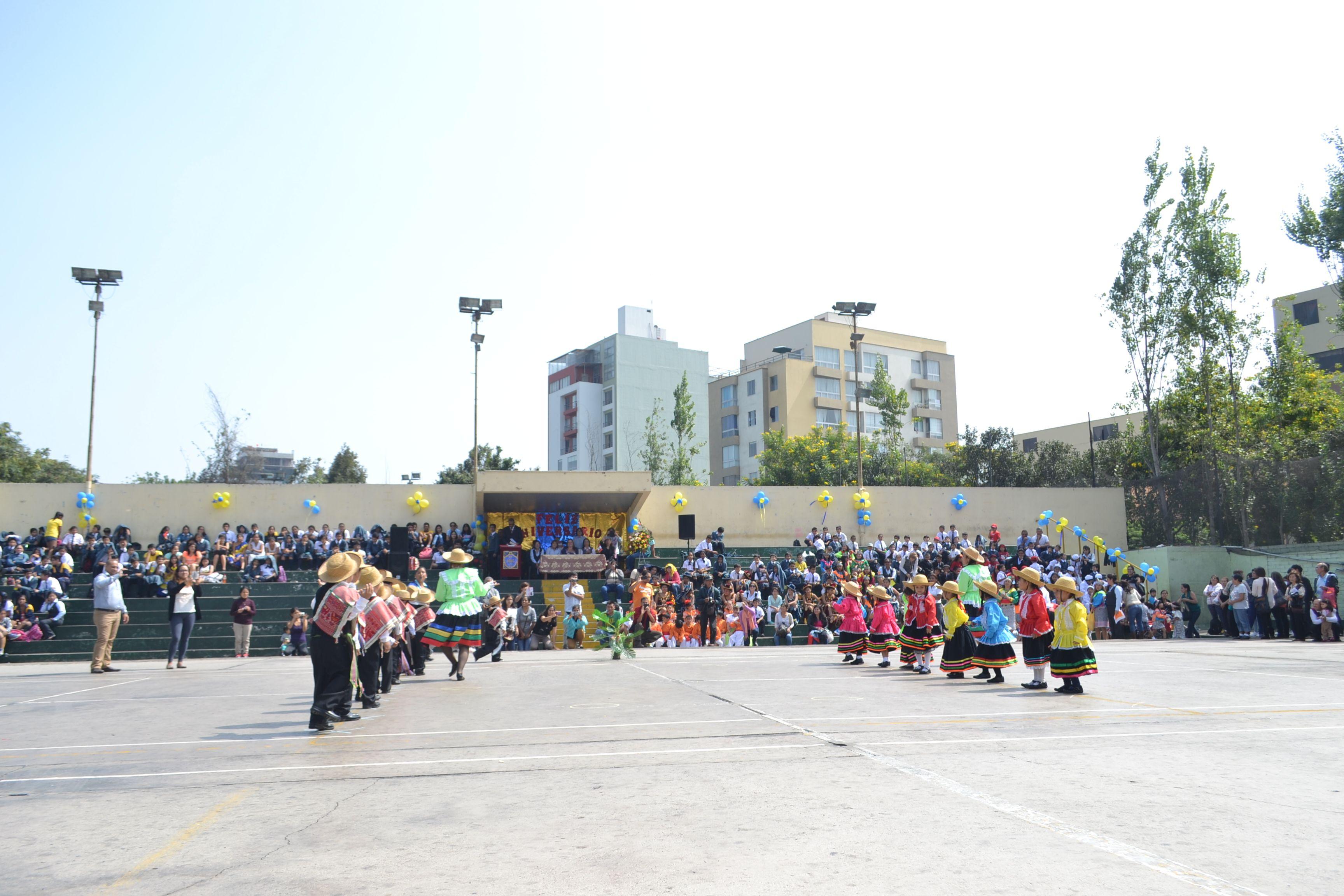 La IEP Micaela Bastidas de Condorcanqui celebró hoy sus históricos ...