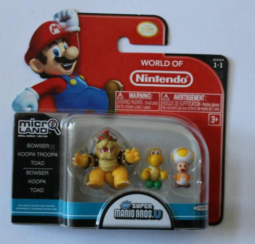 World Of Nintendo Micro Land Bowser Koopa Troopa Toad Super
